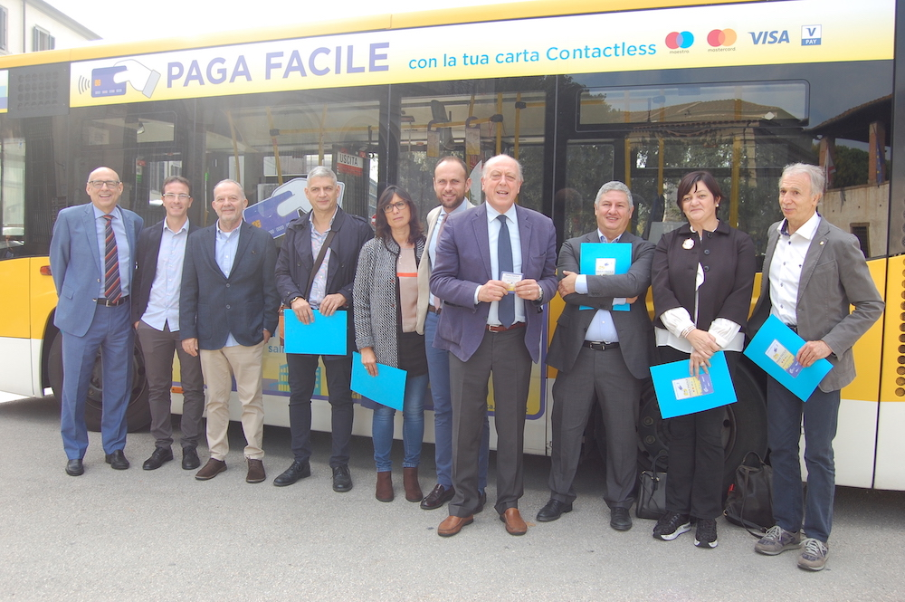 Biglietti bus cashless Lucca