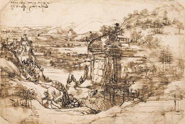 Leonardo e la cava di Giotto
