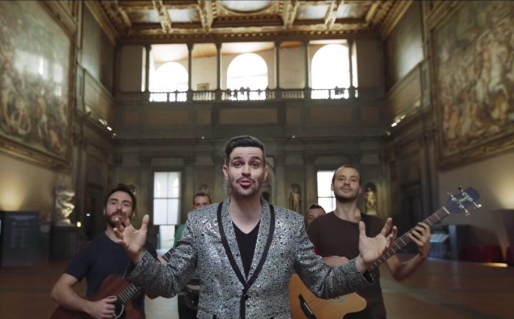 Lorenzo Baglioni: Palazzo Vecchio in una canzone