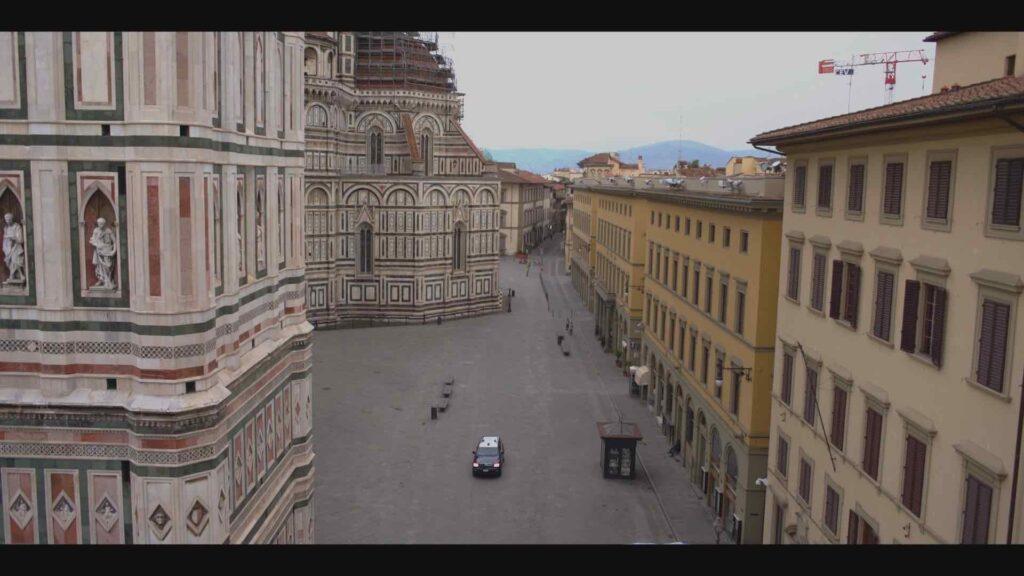 Coronavirus, Firenze deserta in un documentario
