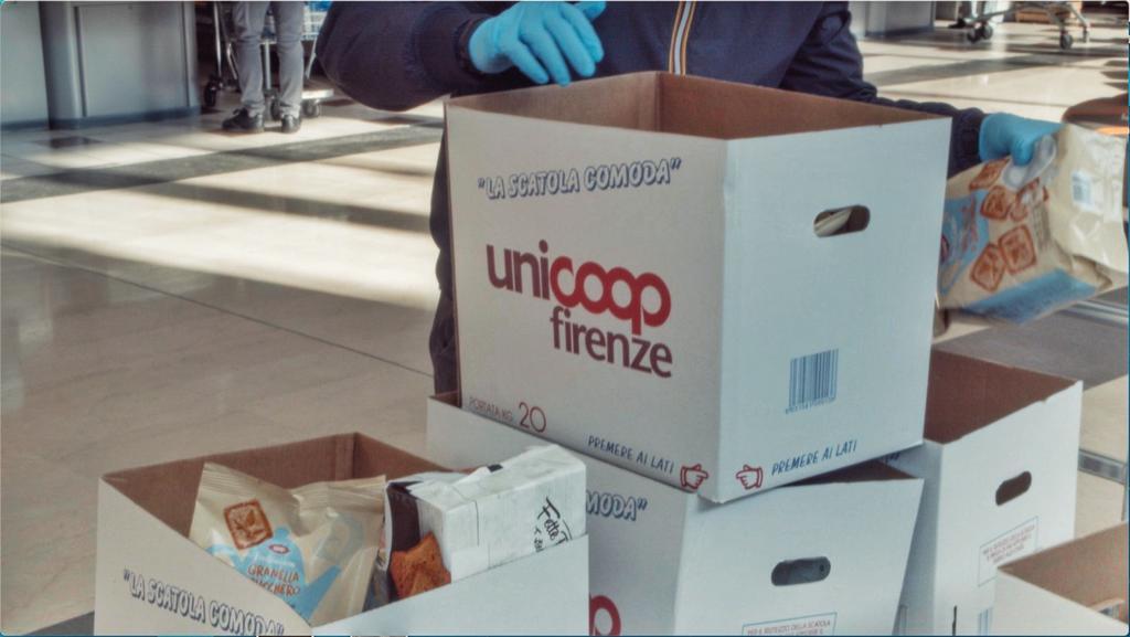 Spesa Sospesa nei punti vendita Unicoop Firenze
