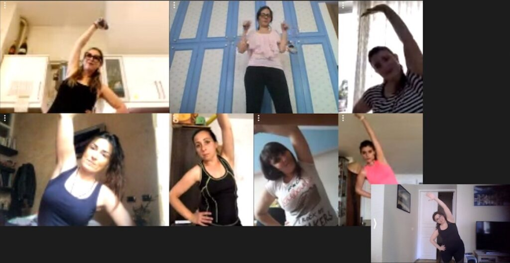 Da Tallin a Malta, il fitness via web per superare il lockdown
