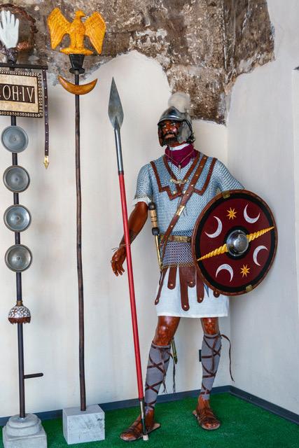 Badia di Vaiano, legionari romani in mostra
