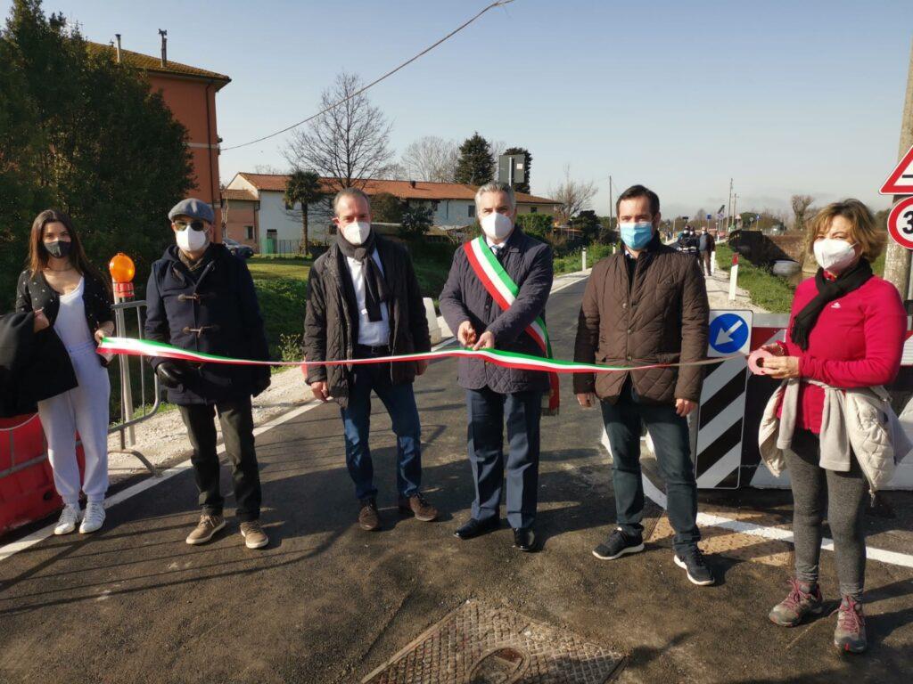 Via di Palazzetto, a San Giuliano Terme, è stata riaperta al traffico
